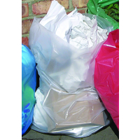 2Work Clearbags-on-Roll. Pack of 5x50