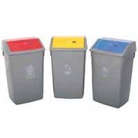 Addis Recycling Bin Kit Bases Metal. Pack of 3