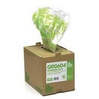Greensack Clear Refuse Sacks. Pack of 75