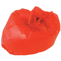 Polymax Refuse Sack 100g Red. Pack of 200