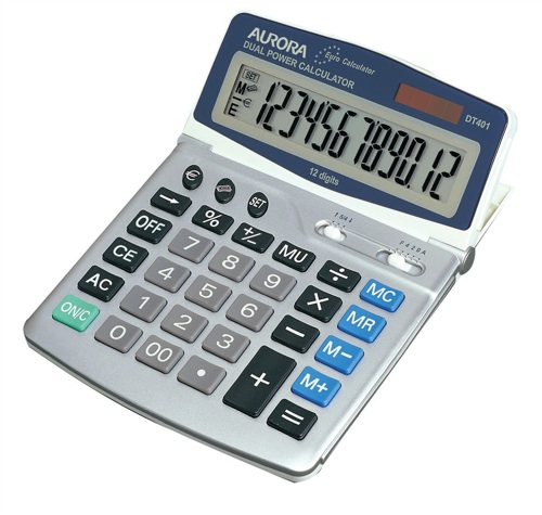 Aurora DT401 Euro Calculator